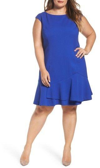 Vince Camuto Plus Size Women\'s Drop Waist Dress   Products ...