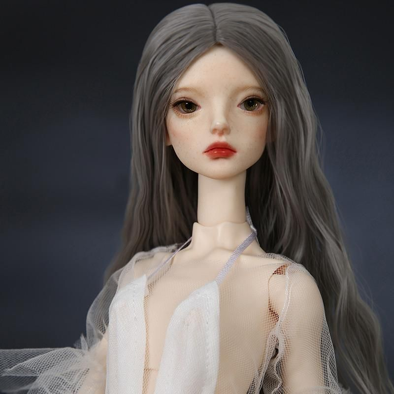 1//4 BJD SD Doll MiniFee Bare Body with Free Face Make Up /& Free Eyes Girl Doll