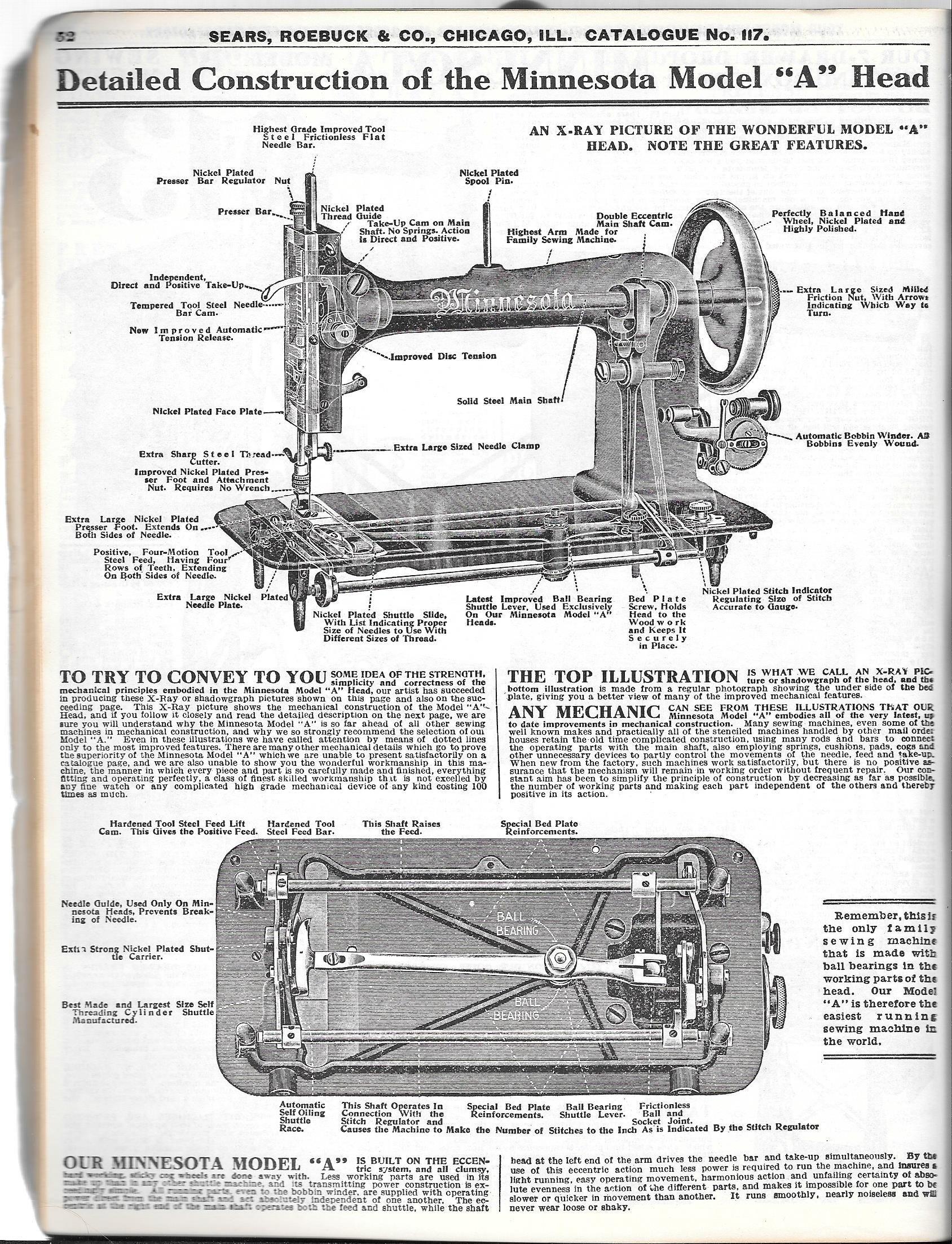 Minnesota treadle machine Sewing machine repair, Sewing