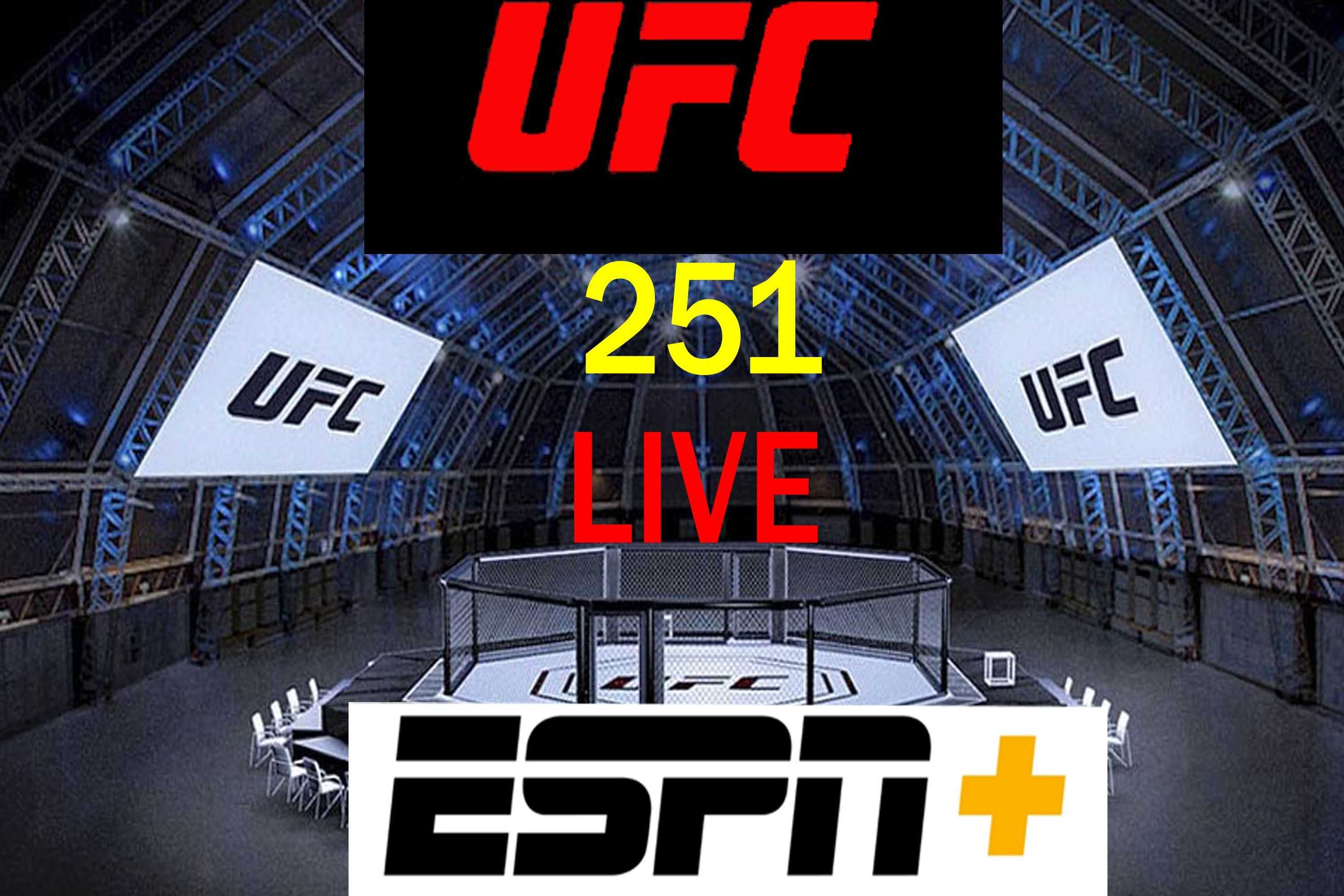 Live ufc 251 ppv live on espn from anywhere in 2020 ufc