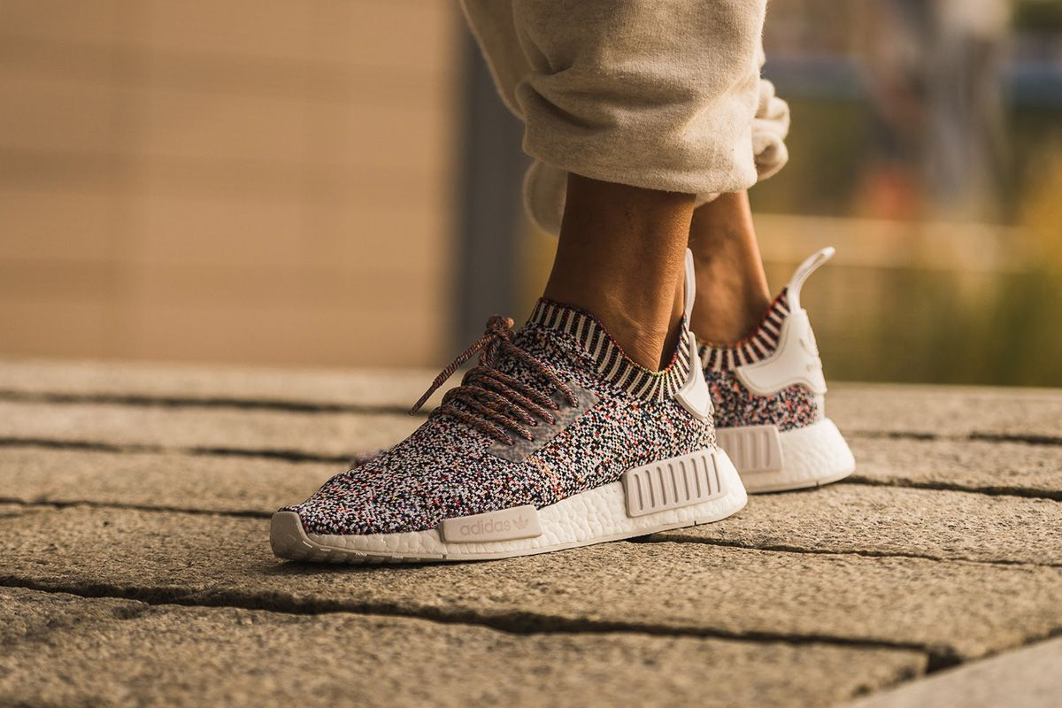 timeless design b0fd7 49c85 On-Foot  adidas NMD R1 Primeknit
