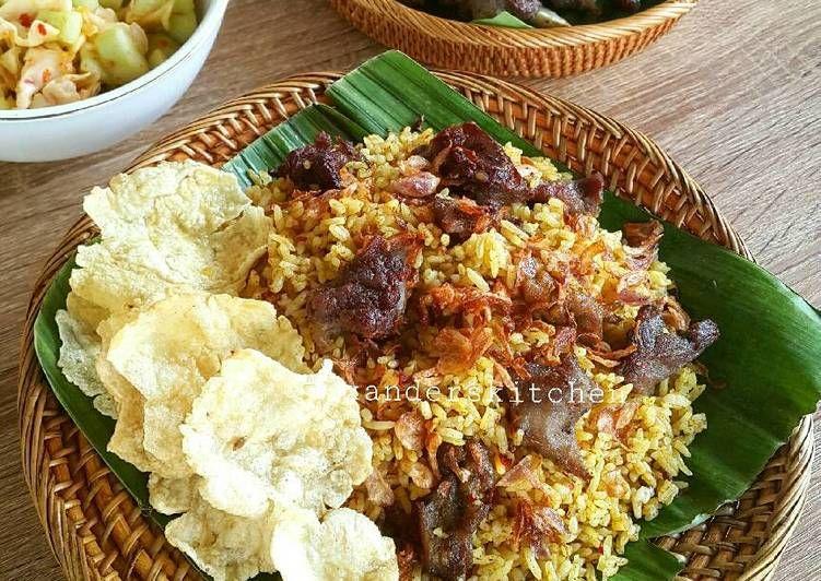 Resep Nasi Kebuli Kambing Kitaberbagi Oleh Xander S Kitchen Resep Resep Makanan India Masakan Resep Daging Sapi
