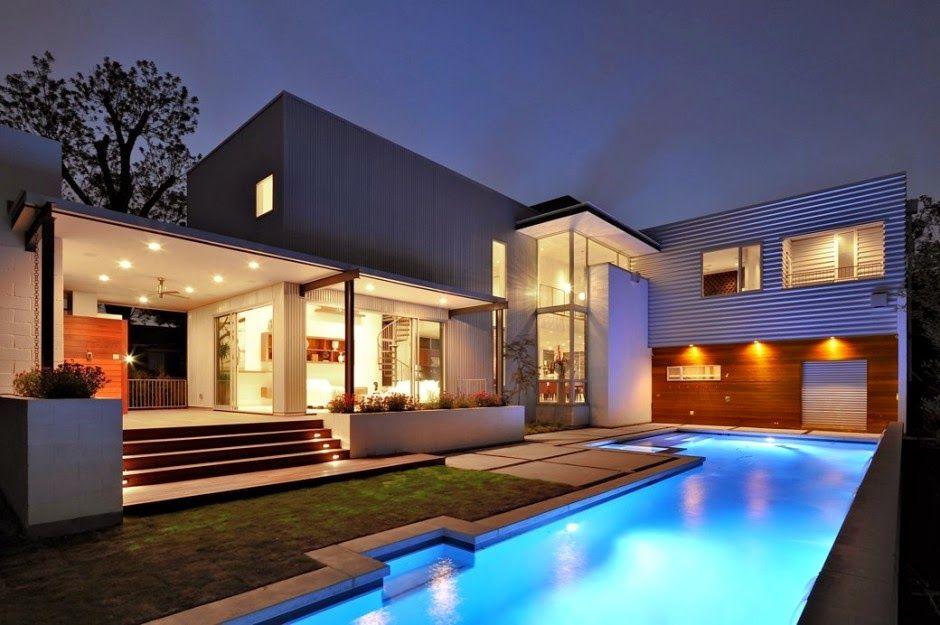 Desain+Rumah+Mewah+Dengan+Kolam+Renang+13.jpg ( & Desain+Rumah+Mewah+Dengan+Kolam+Renang+13.jpg (940×625) | rak TVs ...