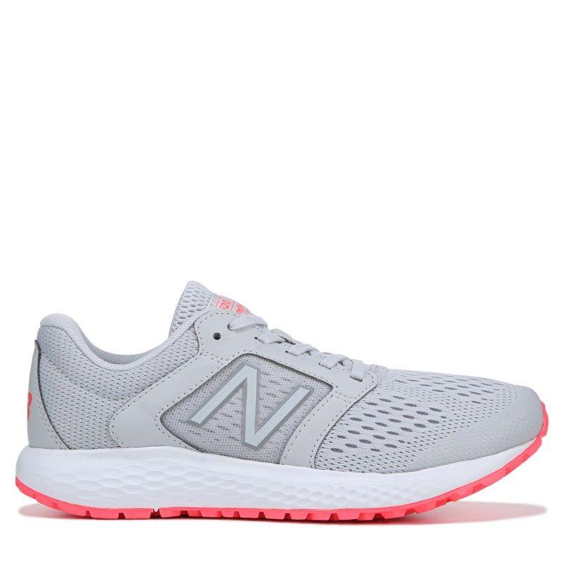 New Balance Women's 520 V5 Wide Running Shoes (Light Grey