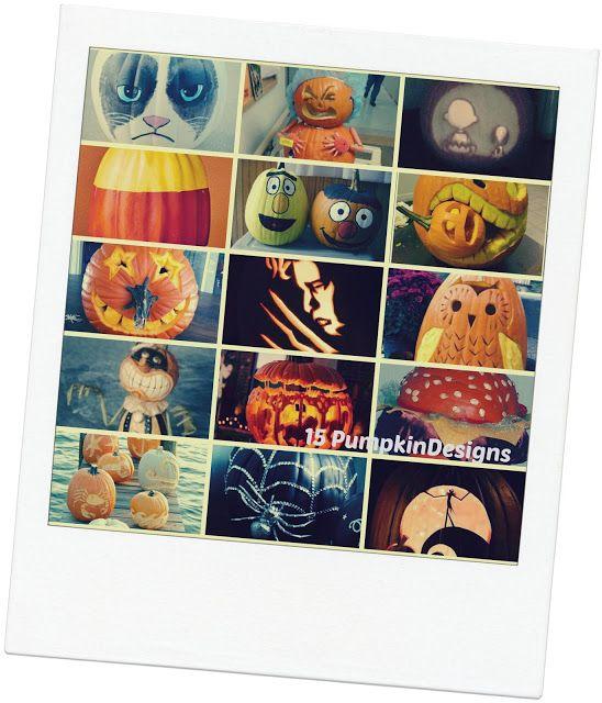 15 Pumpkin Carving Ideas | Just Short of Crazy