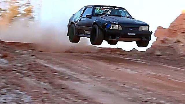 Vaughn Gittin Jr Hoons The Drift Missile Mustang Cool Car Videos