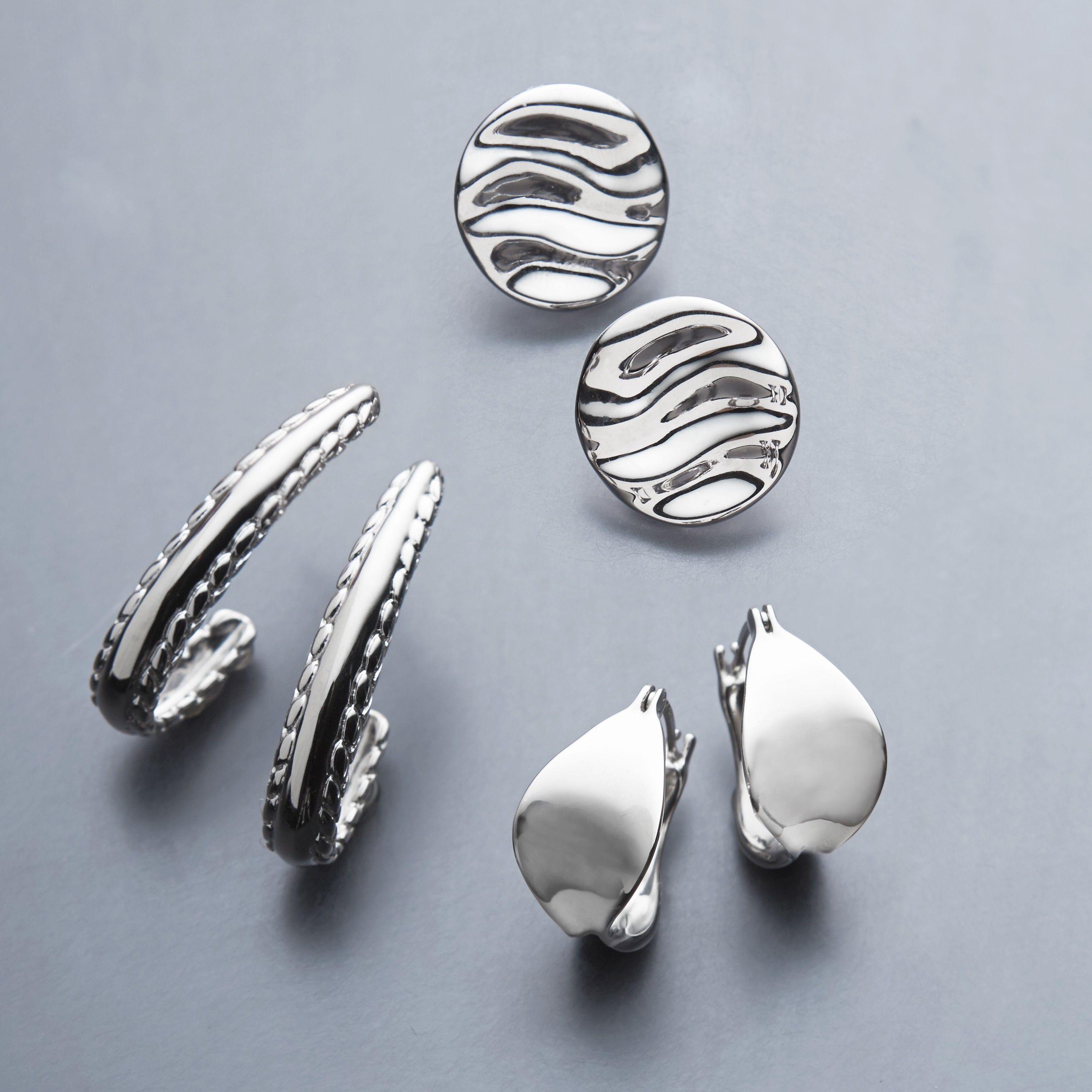 Zuni Fetish Style Rhodonite Bear Earrings Beaded With