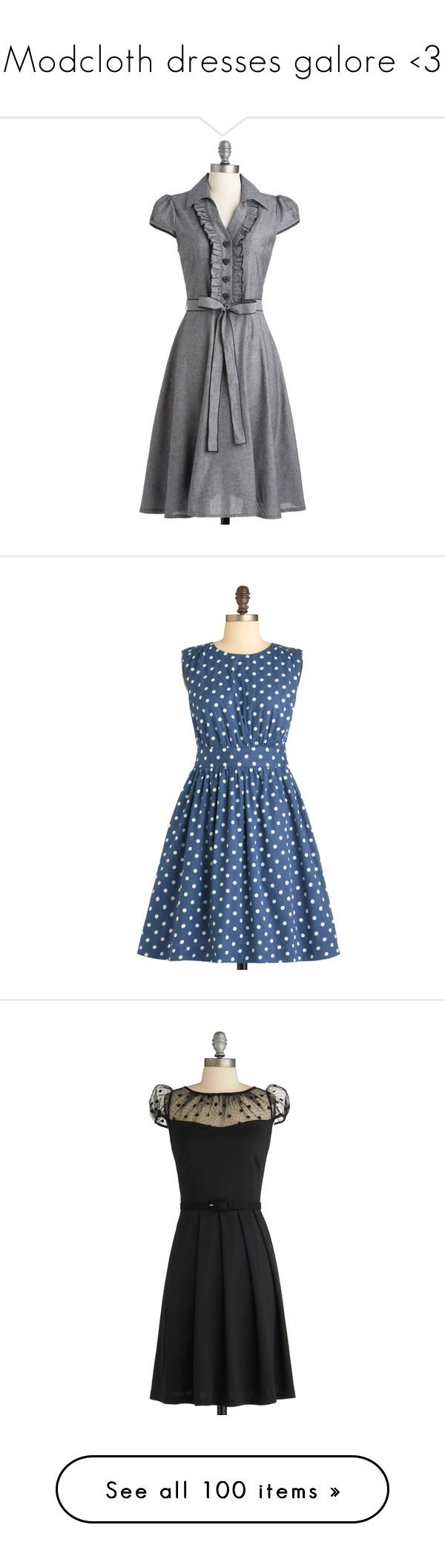 Modcloth dresses galore uc