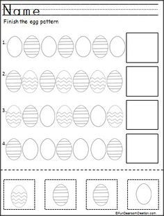 Worksheet Wednesday: Lovely Patterns - Paging Supermom