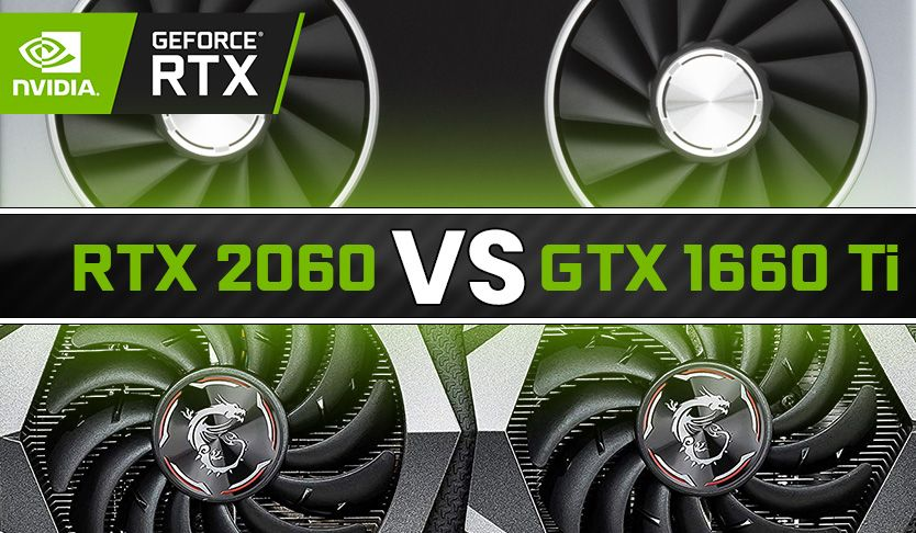Nvidia Rtx 2060 Vs Gtx 1660 Ti Benchmark Review Nvidia Graphic Card Best Graphics