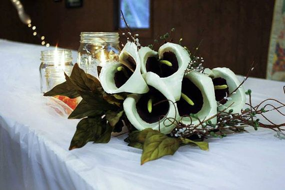 Bridal Bouquet // Calla Lily Bouquet by PioneerArtisanworks, $150.00