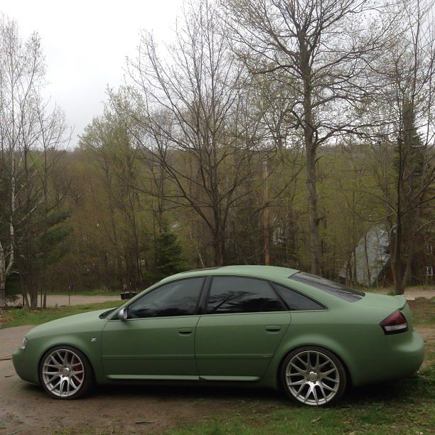 Entire Audi A6 Plasti Dipped With Plasti Dip Camo Colors