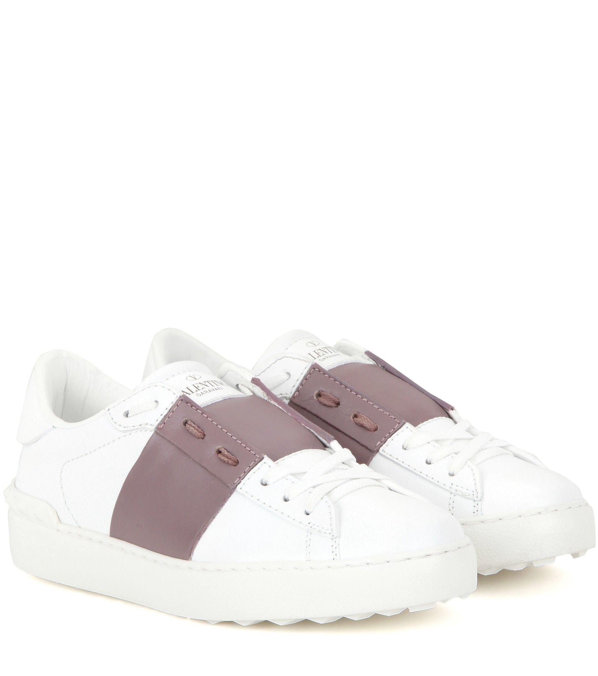 Isabel Marant White & Pink Valentino Garavani Open Sneakers lFXlTYODd