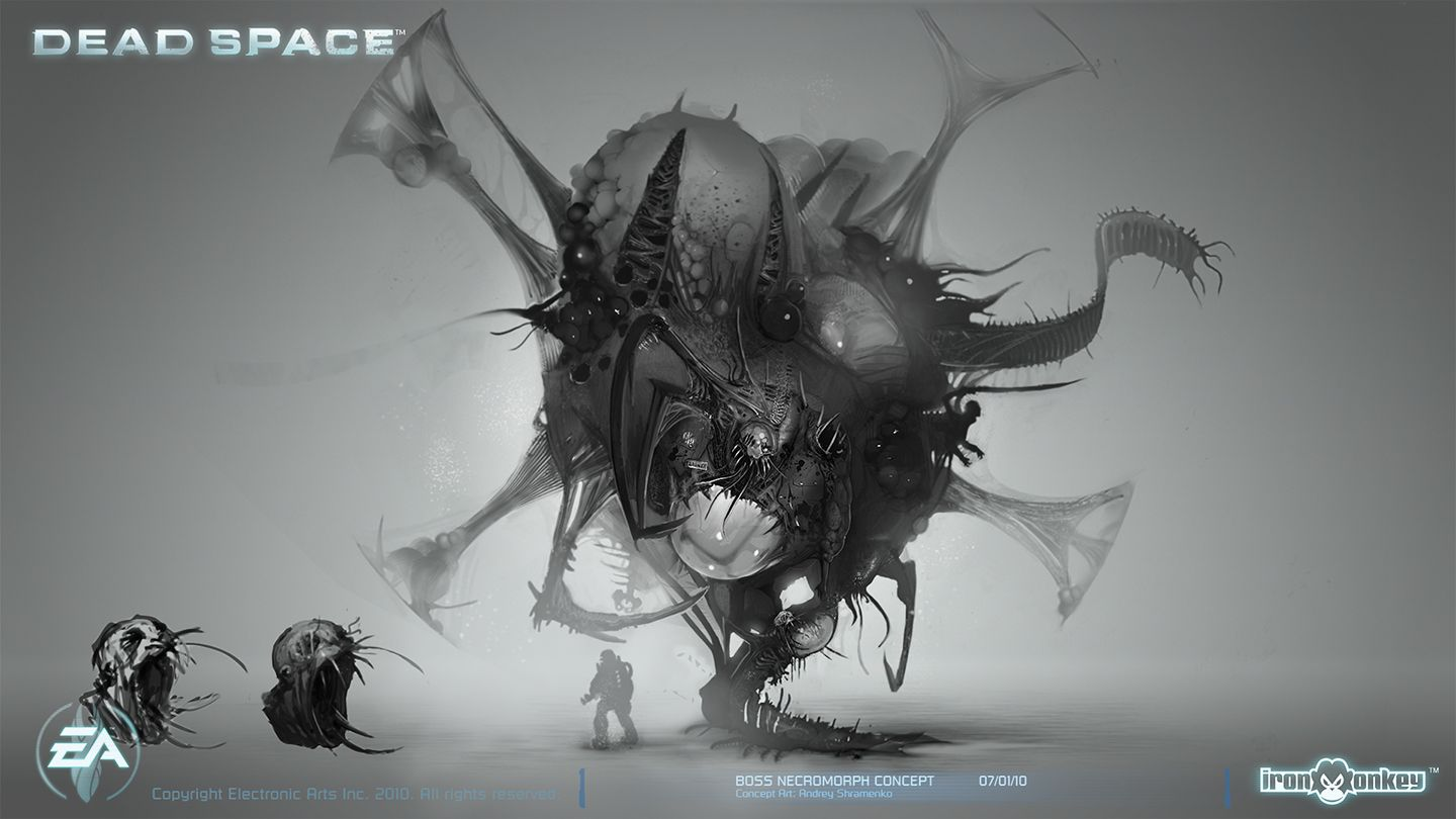 Boss Necromorph Concept by ~shirik on deviantART ... Dead Space 3 Monsters