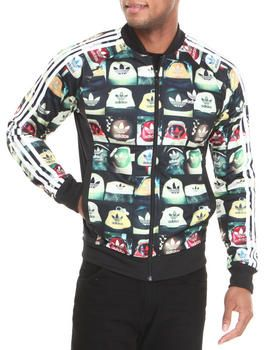 956791769e577 Buy All-Over Print Superstar Track Jacket Men's Outerwear from Adidas. Find  Adidas fashions & more at DrJays.com
