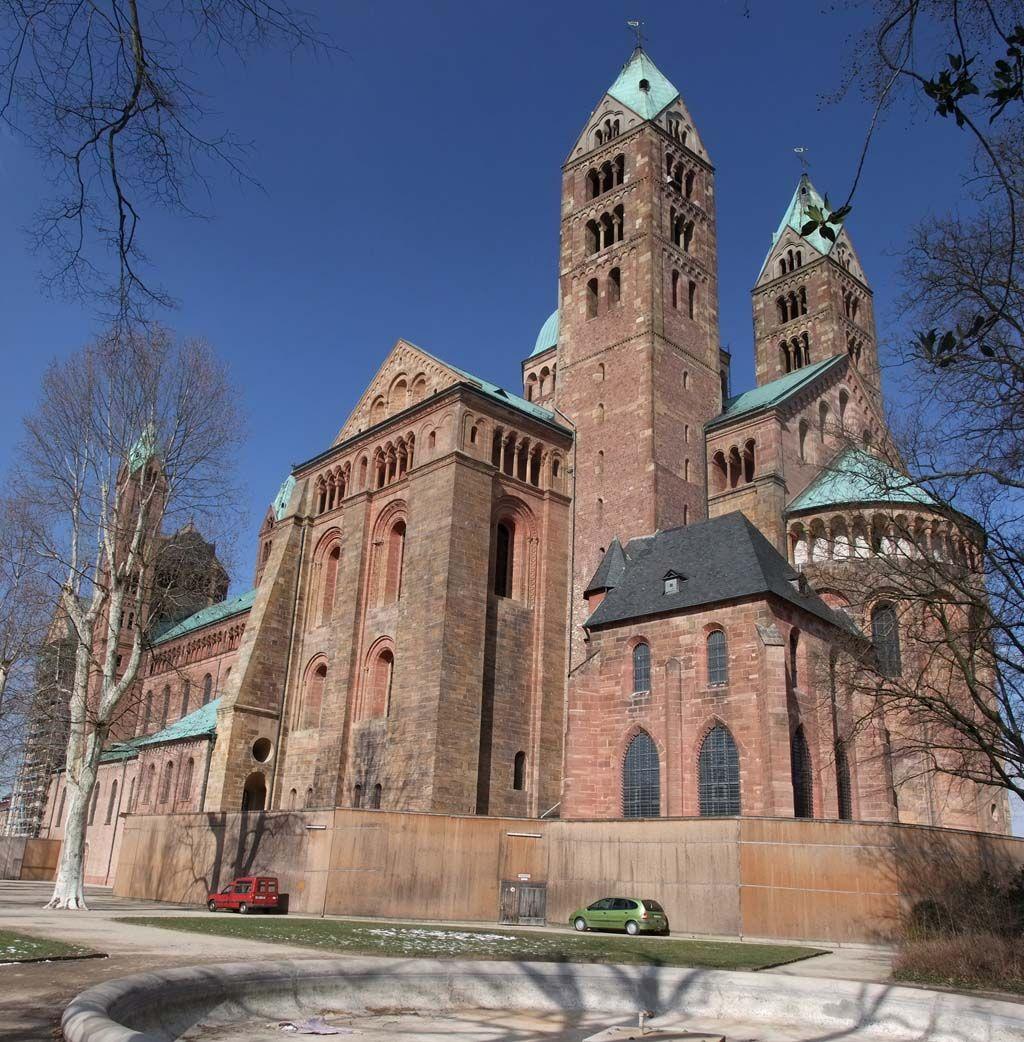 Speyer Cathedral Architecture Speyer Spaziergange Bilder