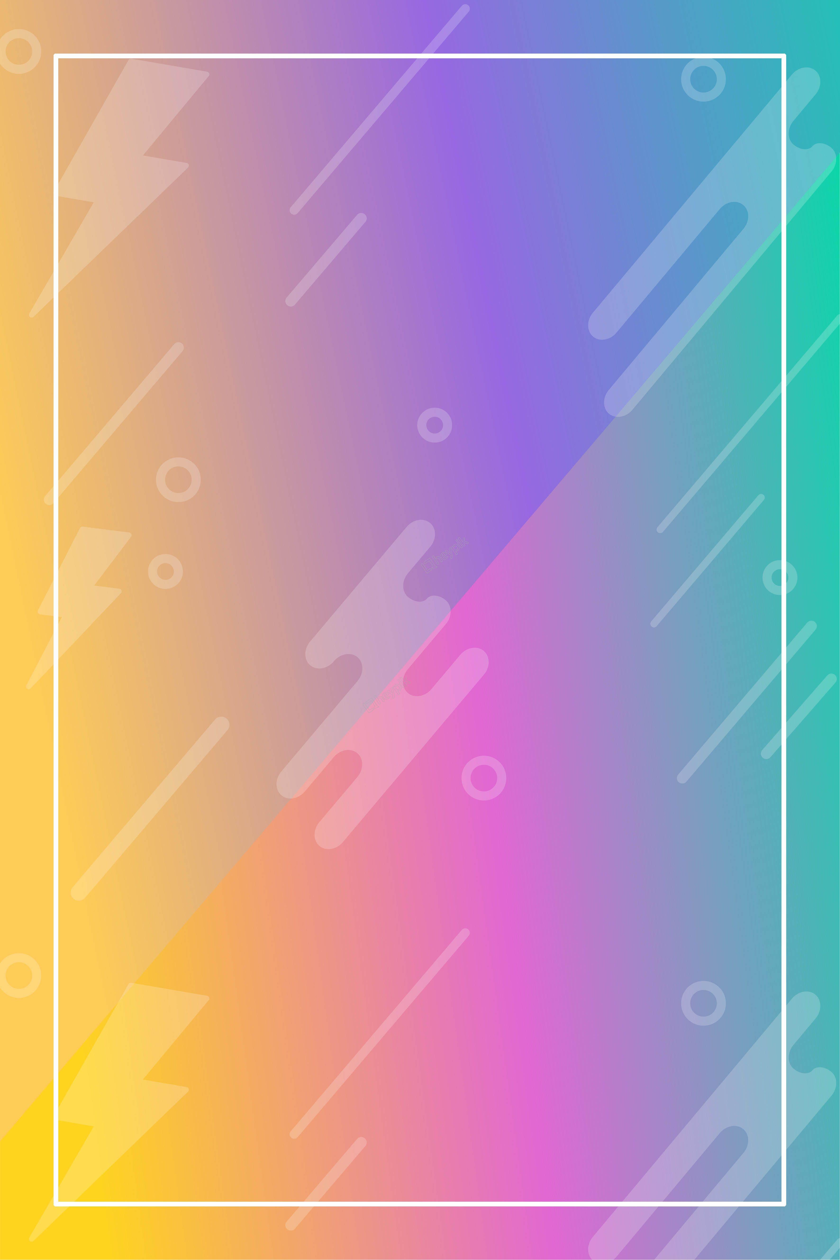 Fond Graphique Abstrait Effet Photo Coloré Screenprinting