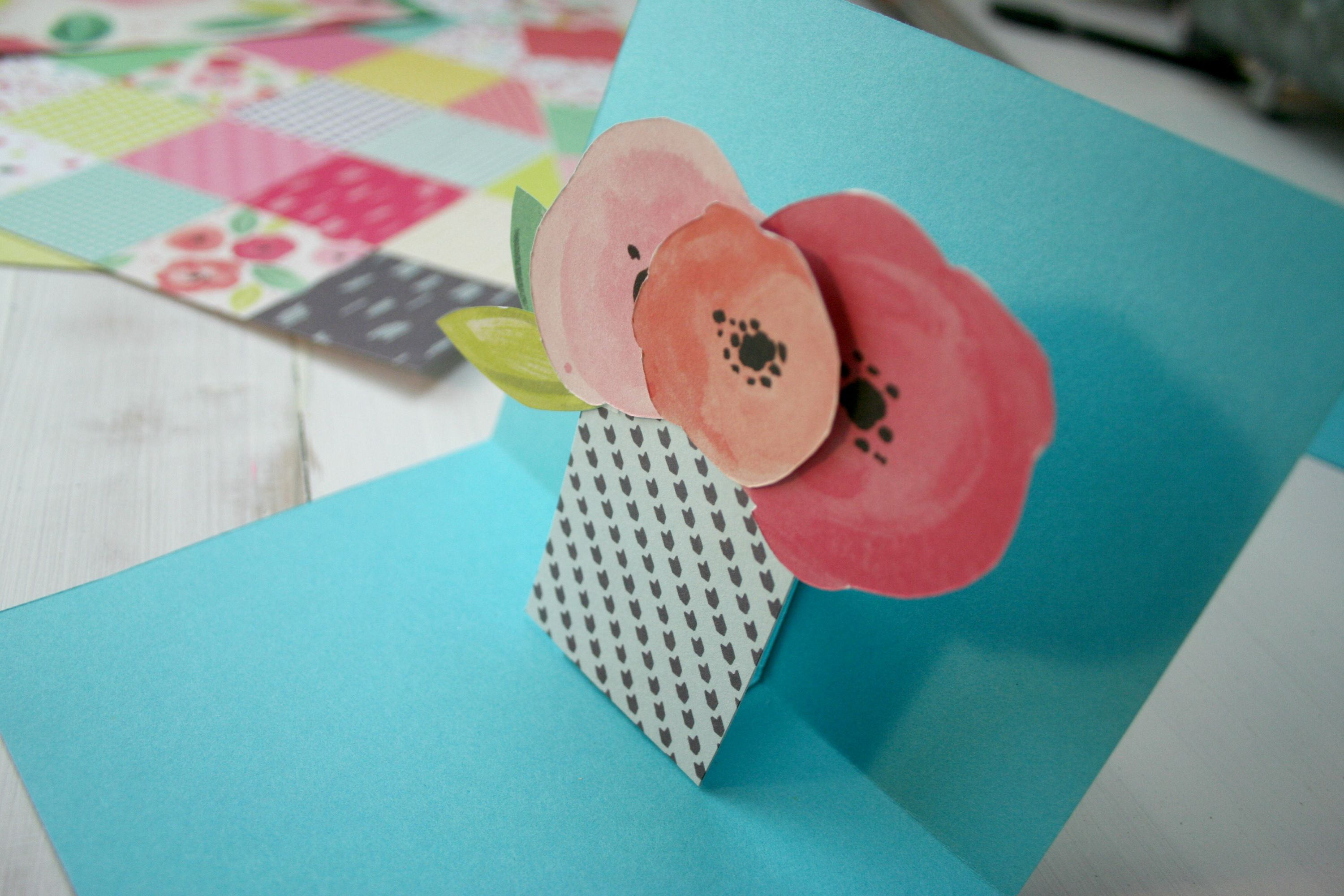 How To Make A 3d Card 23 Card Making Ideas How To Make A Card