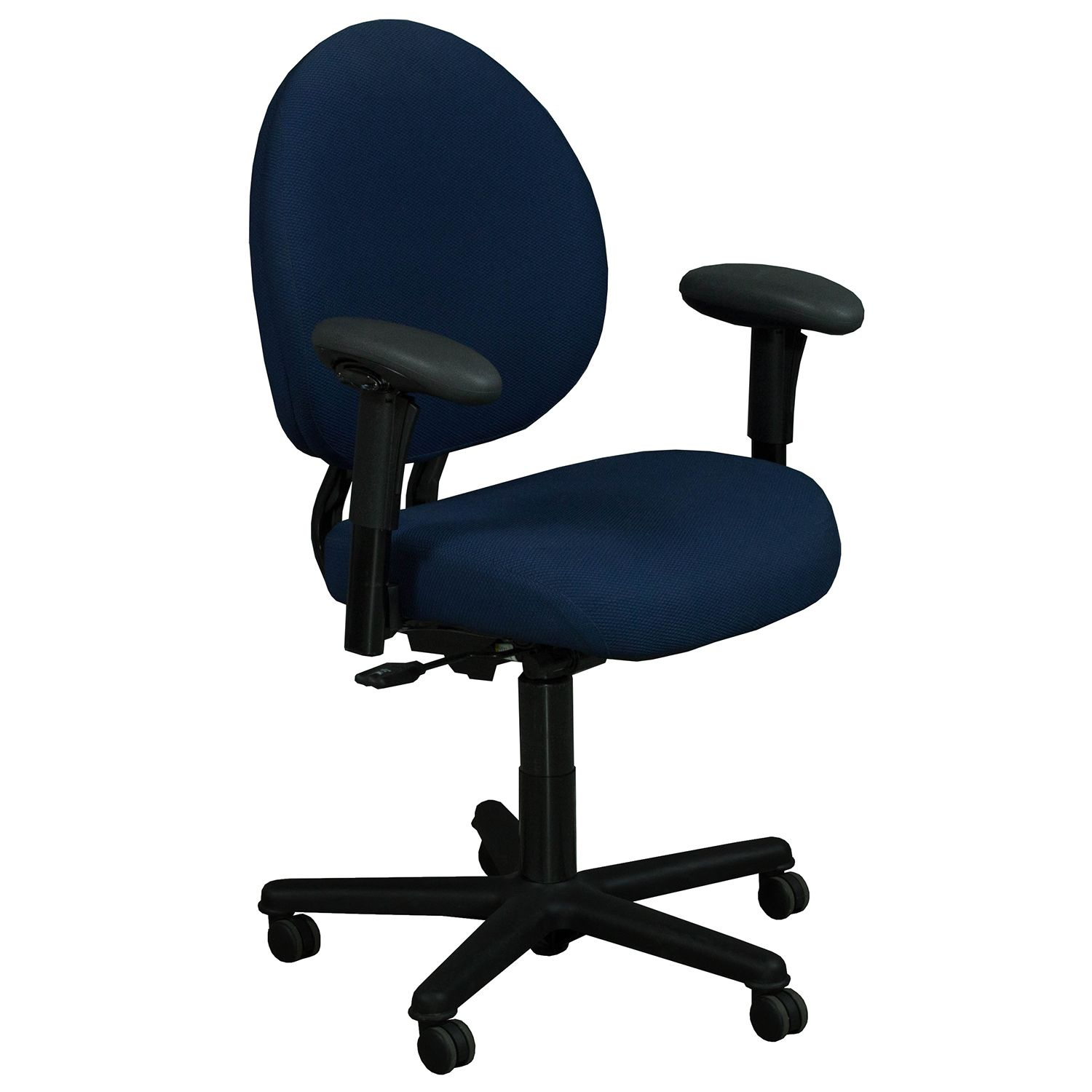 Steelcase Criterion Chair Steelcase Criterion Plus Used Big Man Task Chair Blue Style In