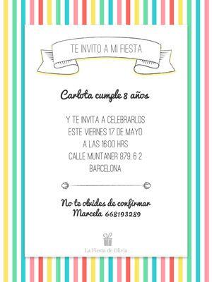 Invitaciones Personalizadas Gratis En Español Www