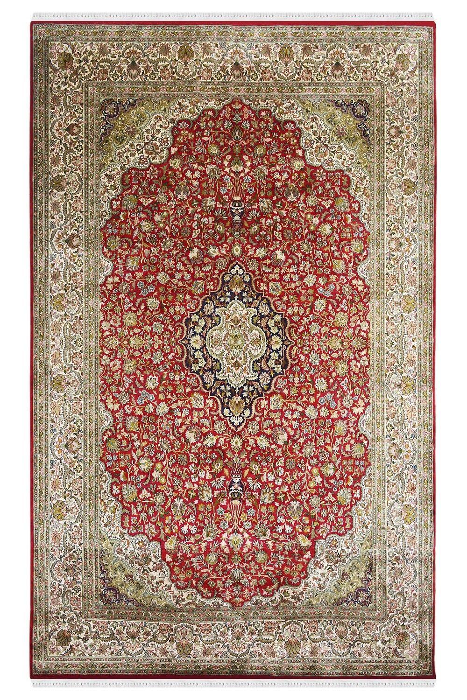 Red Phool Kashan Tradition Silk Carpet Shop From Yak Carpet Carpet Shops Silk Carpet Where To Buy Carpet