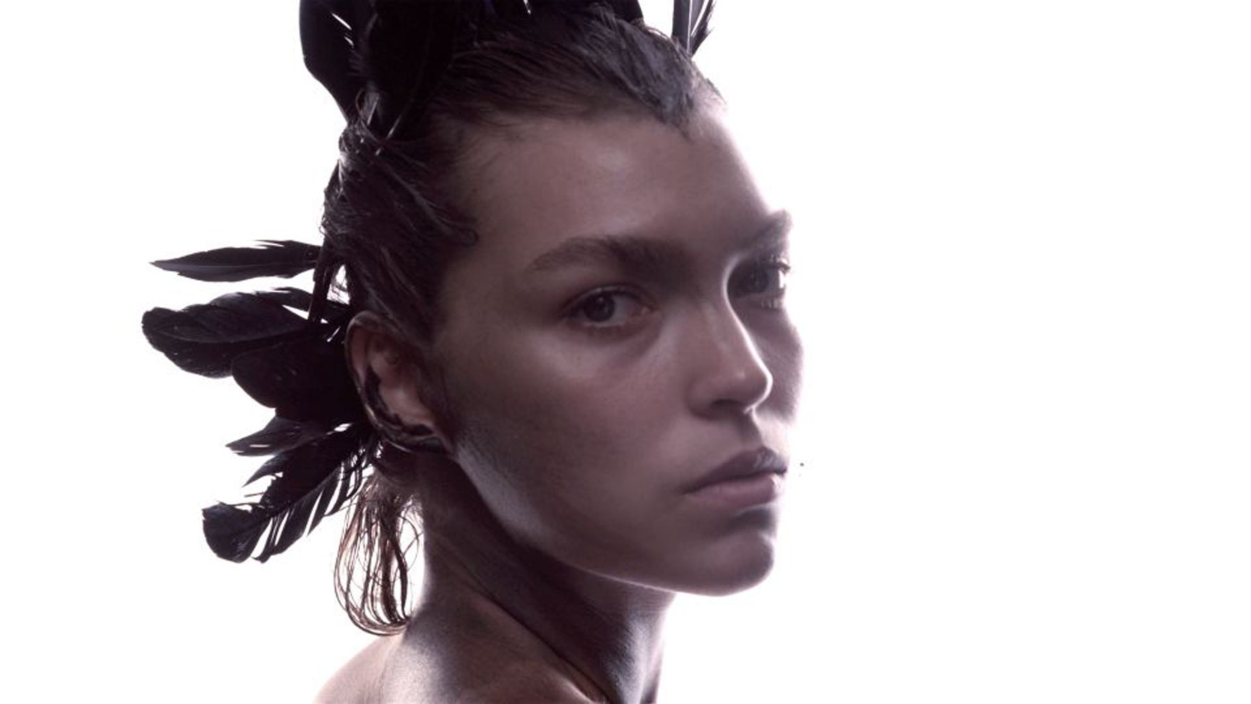 Arizona Muse: Natural Beauty - The Model Channels Her Inner Animal for James Houston's Eco Photo Series