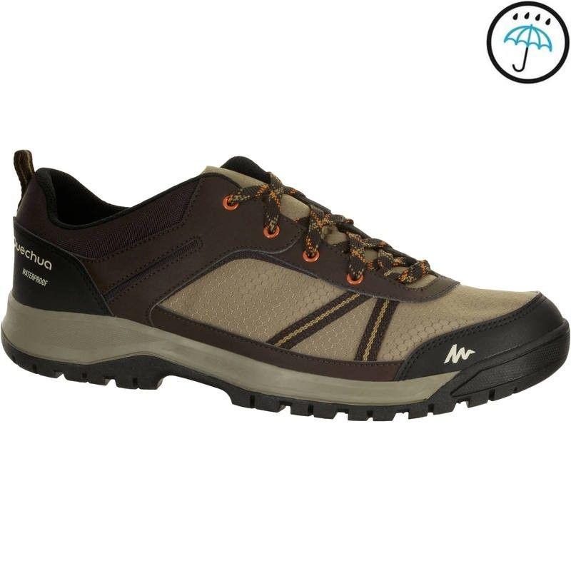 c925c56e1a39 Men s NH300 waterproof hiking shoe in beige