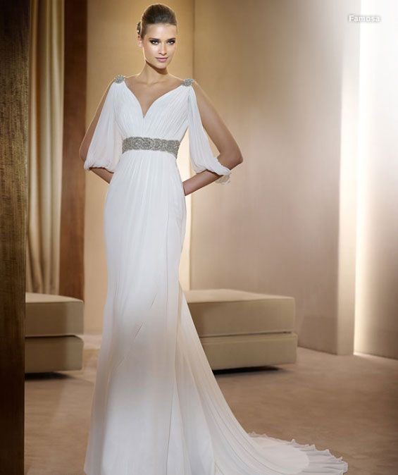 Remarkable Greek Style Wedding Dress Reference For Wedding Decoration X Short Hairstyles Gunalazisus