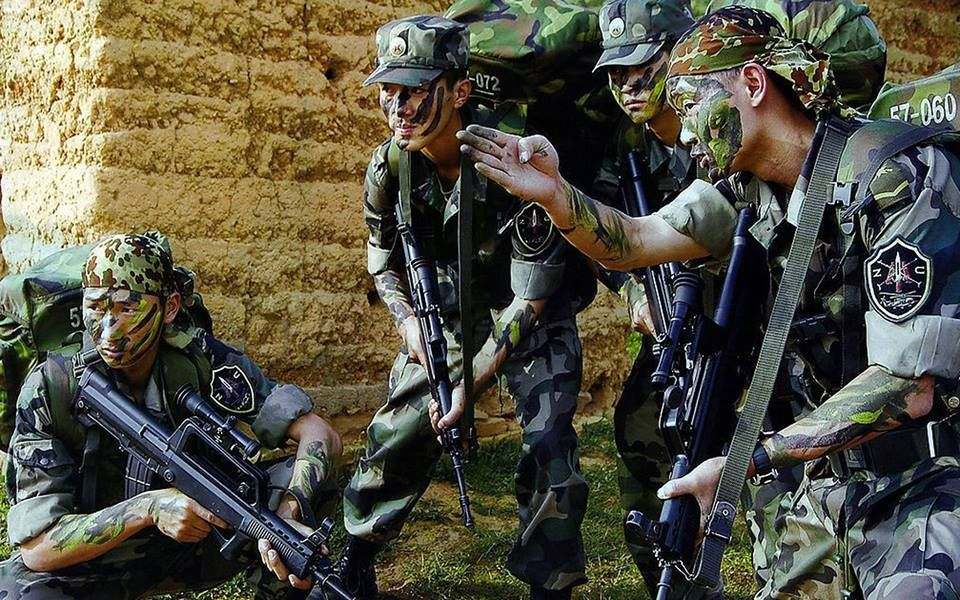 Chinese PLA Special Operations Forces. Military Heroes