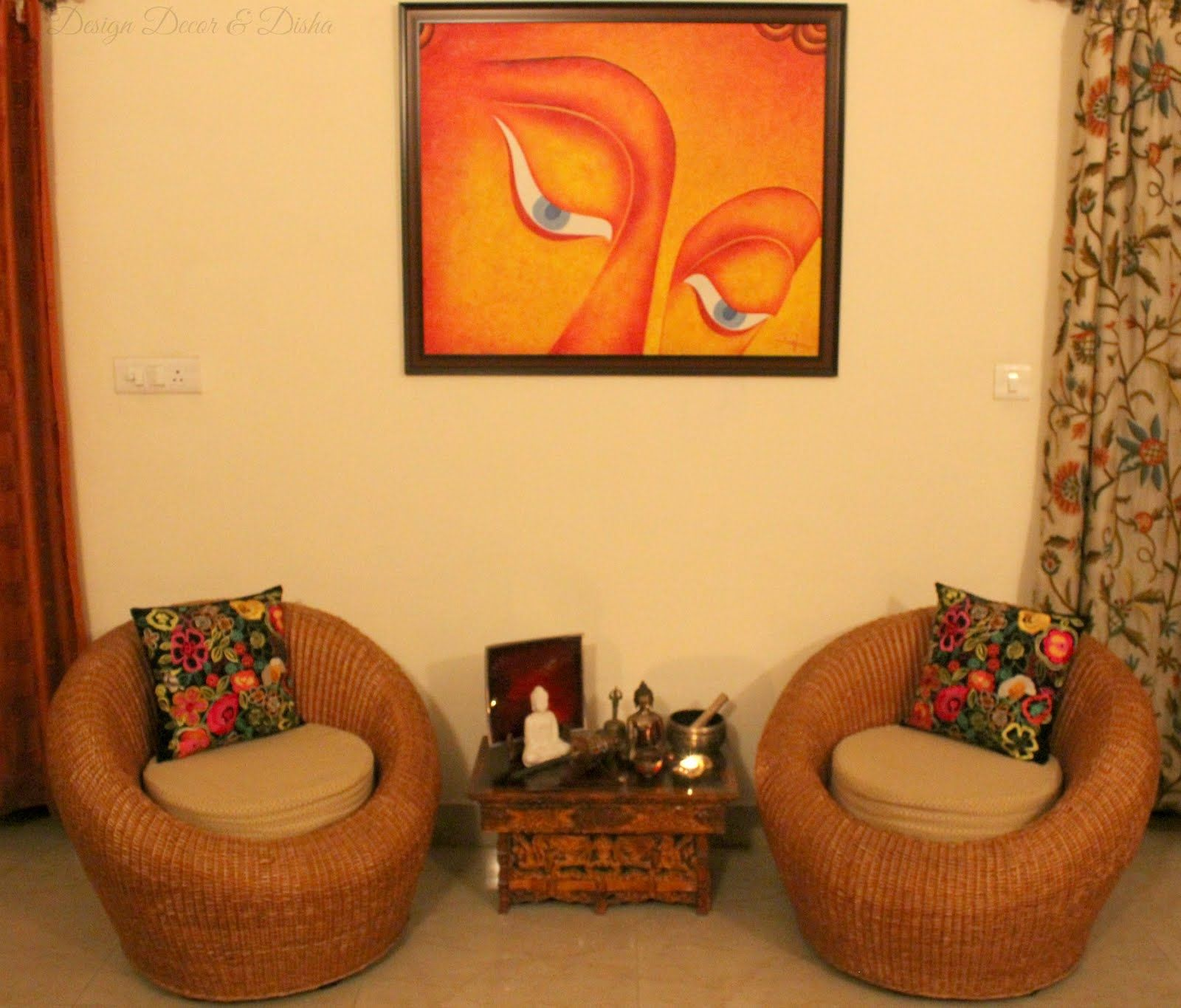 Superb Indian Home Decor Ideas Part - 8: Indian+Home+Decor+Ideas.jpg (1600×1365)   Wall Decor   Pinterest   Wall  Decor And Walls