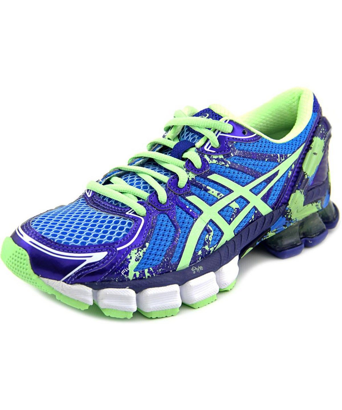 Asics Gel Sendai 2 Women Round Toe Synthetic Blue Sneakers Blue
