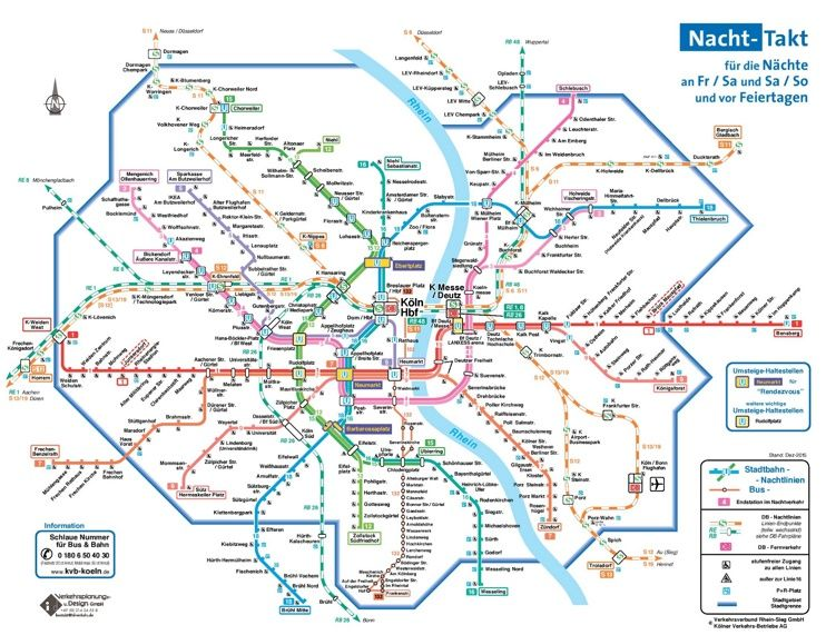 Cologne night transport map Maps Pinterest City