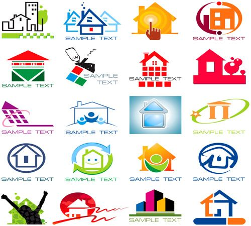 Logos negocios de bienes raices entrepreneur pinterest for Logo de empresa gratis