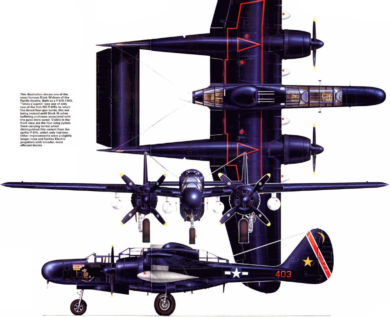 Обои p-61, ww2, black widow, painting, истребитель, P-61 black widow, aircraft art. Авиация foto 10