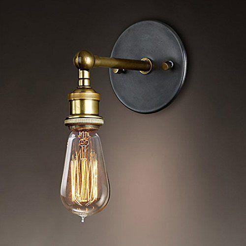 Connu Splink Rétro Luminaire Applique Murale Style Industriel R…   Idées  DR76