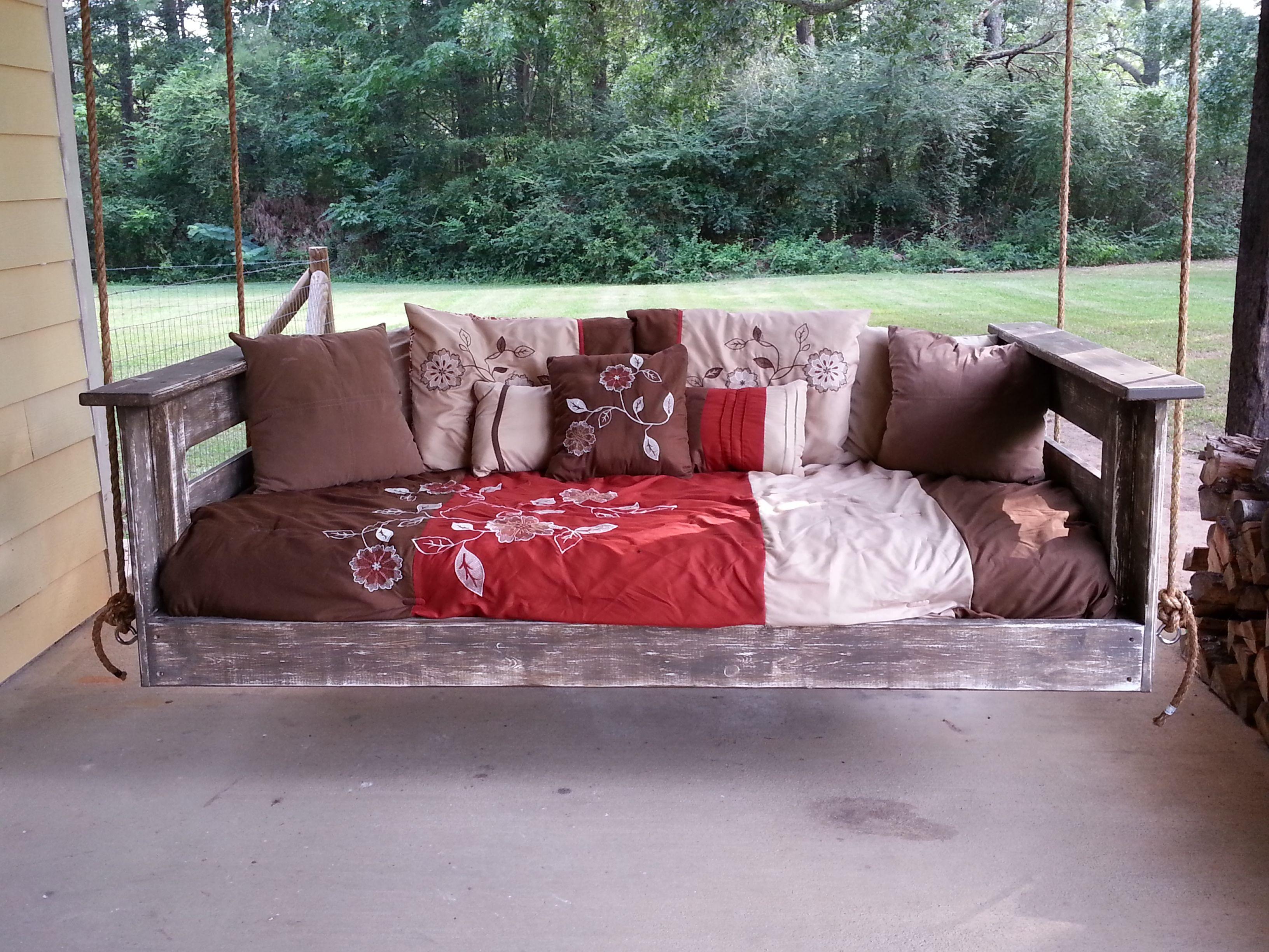Diy swing bed swing bed pinterest diy swing and swings