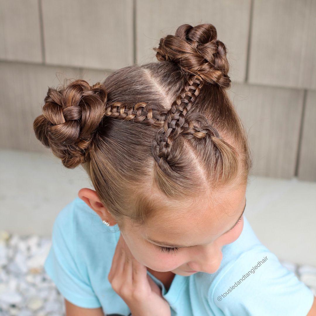 Coiffure Fille 100 Idees De Cheveux Longs Pour Votre Petite Princesse Coiffures Filles Coiffure Fillette Facile Filles Aux Cheveux Longs