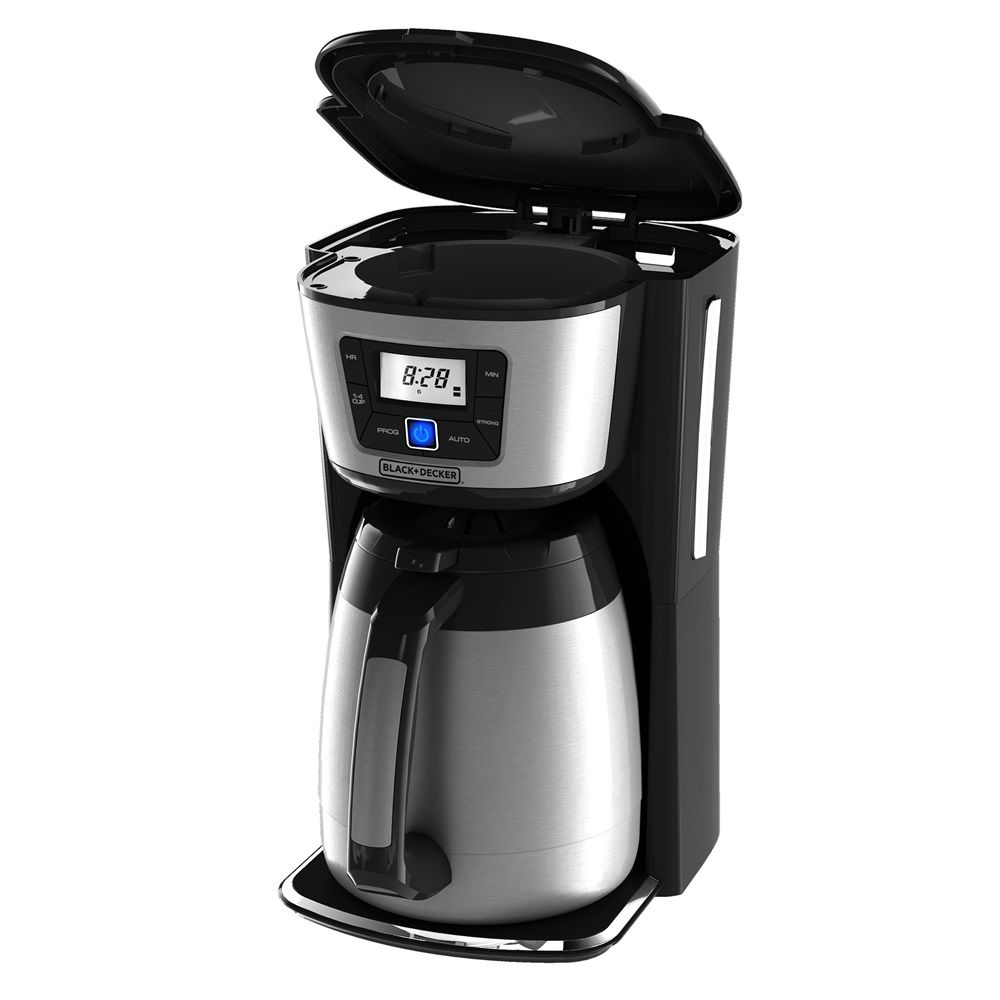 Black And Decker 12 Cup Thermal Coffeemaker Cm2035b Wow This Is A Horrible Render But That Abomination Coffee Maker Coffee And Tea Makers Coffee