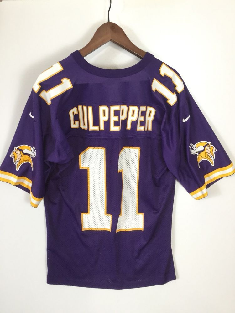716c26798 Dante Culpepper Minnesota Vikings Purple Jersey NFL Football Nike Team Size  M   14.99 End Date  Wednesday Nov-21-2018 4 39 01 PST Buy It…
