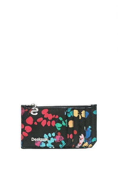 Portecartes Noir Card Zip Misha Father Father Moda And Boutique - Porte carte desigual