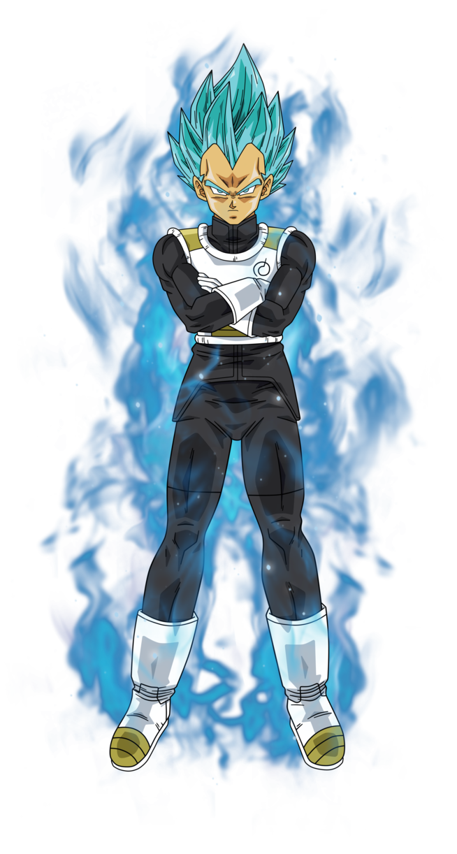 Vegeta Super Saiyan Blue By Bardocksonic On Deviantart