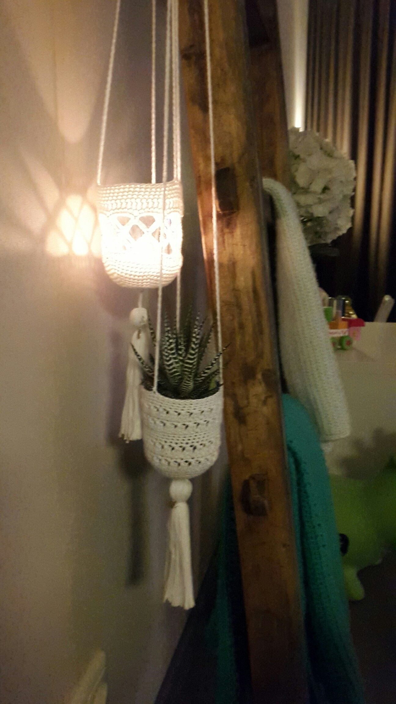 Hanging Baskets Haken Made With Love Pinterest How To Make