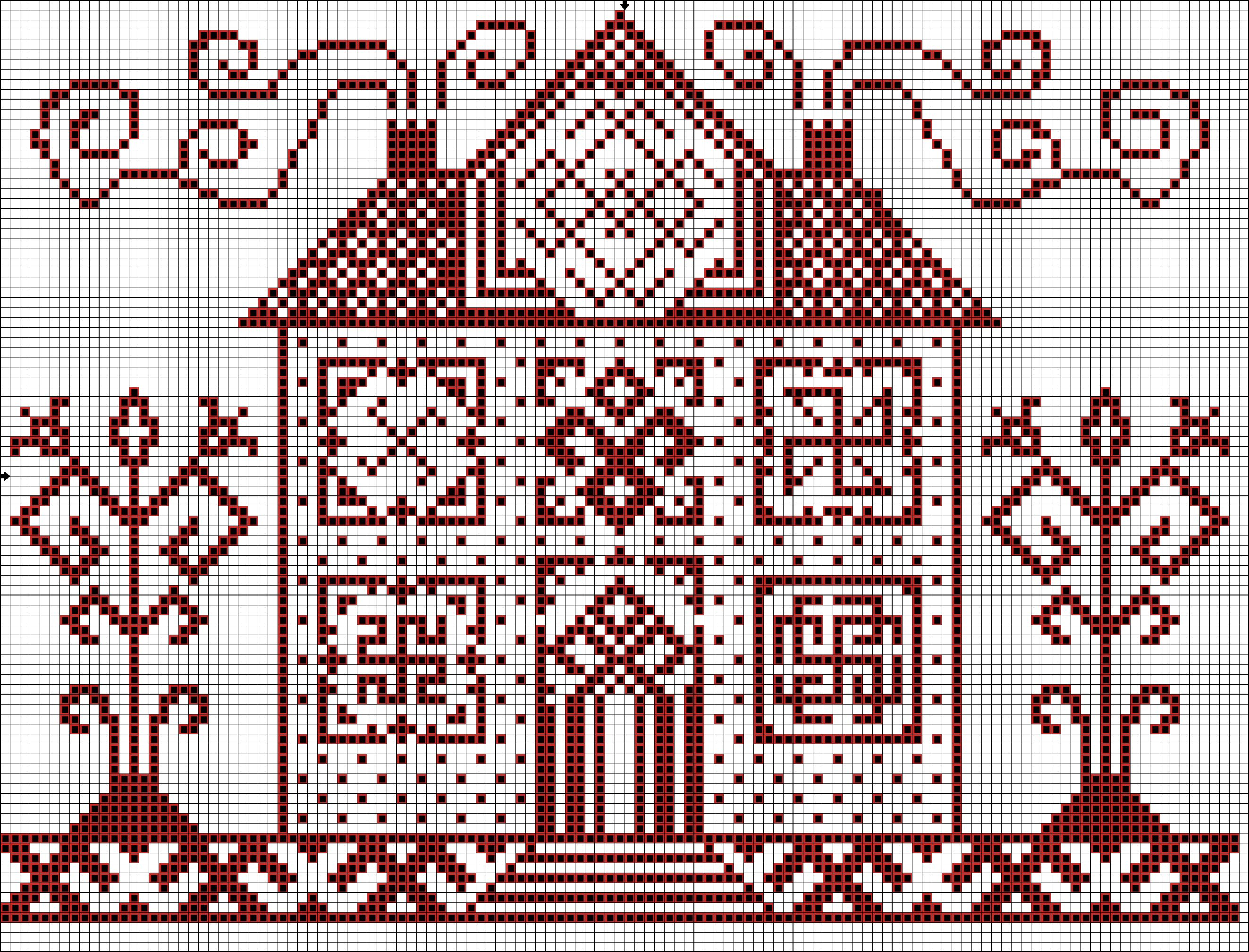 Схема вышивки оберег дома фото 237