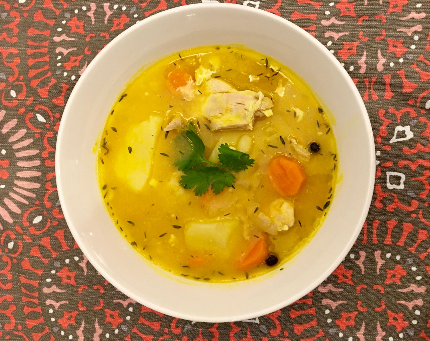 How to make the best Jamaican Chicken soup with dumplings by ...