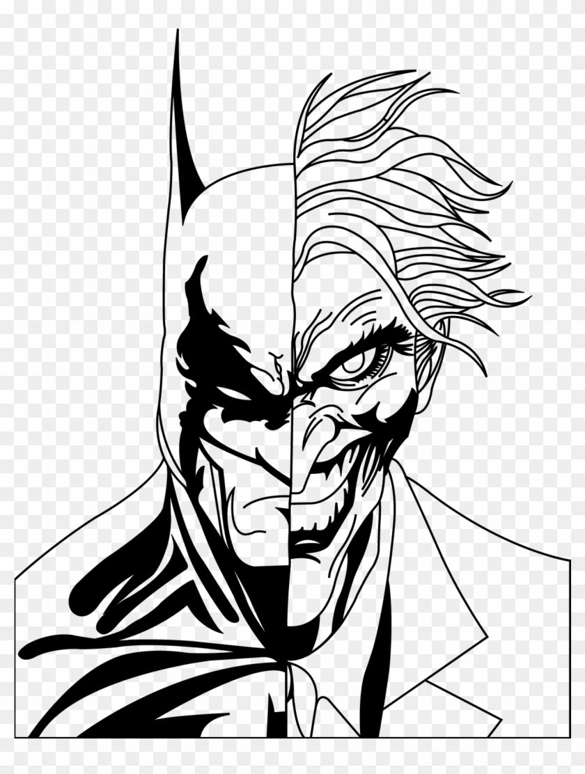 Find Hd 1200 X 1582 3 Batman And Joker Face Drawing Hd Png Download To Search And Download More Free Tr Joker Art Drawing Joker Face Drawing Joker Drawings