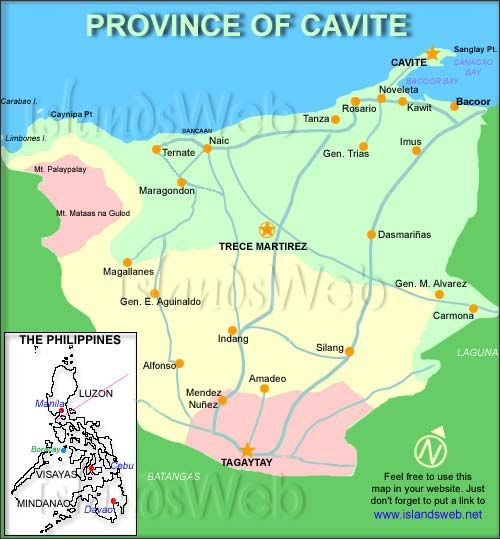 The Province Of Cavite Cavite Consumer Culture Pinterest