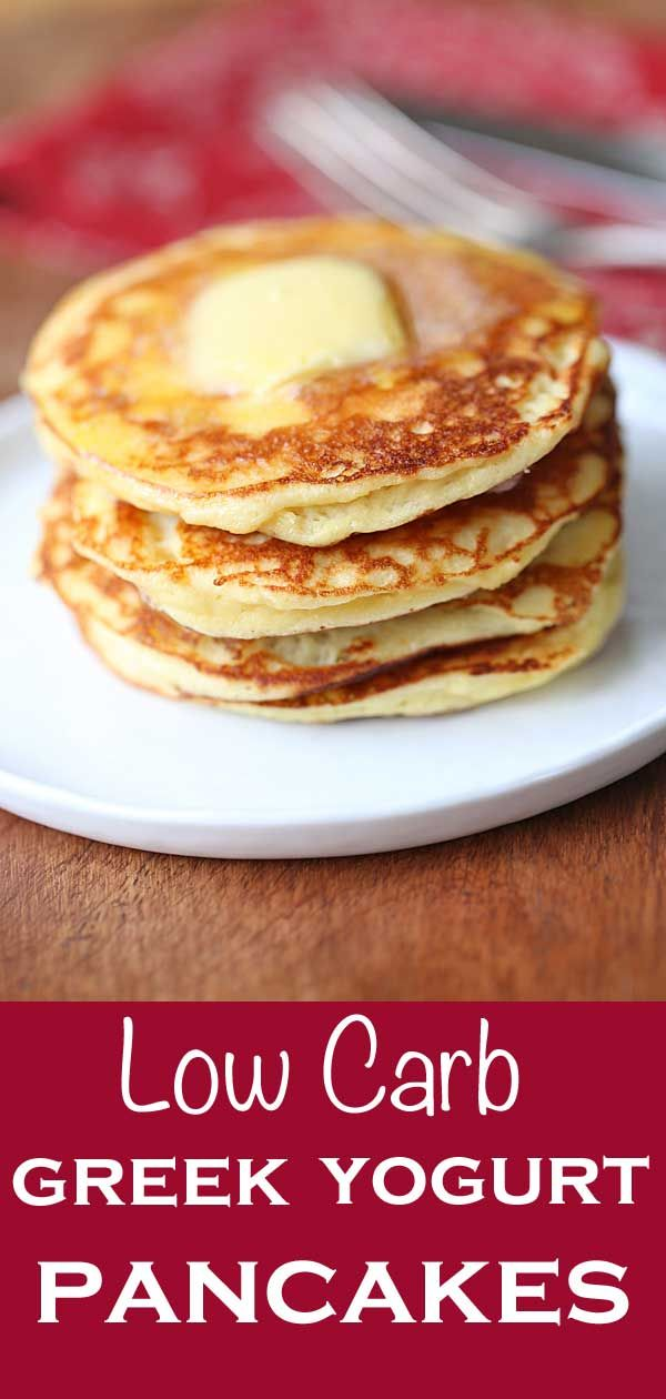 Greek Yogurt Pancakes, Tender and Fluffy | Healthy Recipes Blog