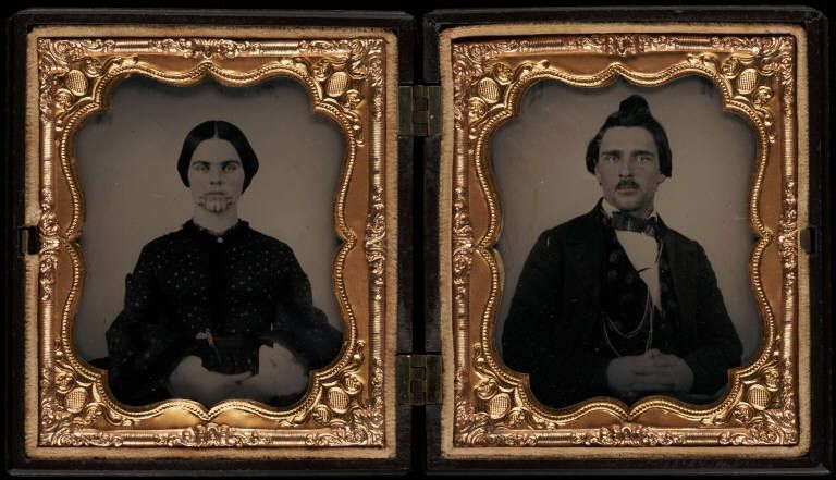 Lorenzo D. and Olive Ann Oatman, brother and sister, traveled with their family in 1850 across the Plains. While encamped on the Gila River,they were attacked by Indians who killed most of the family, left Lorenzo for dead, and took Olive and her sister Mary into captivity. Although Mary died in captivity, Olive was eventually ransomed and joined her brother in 1857