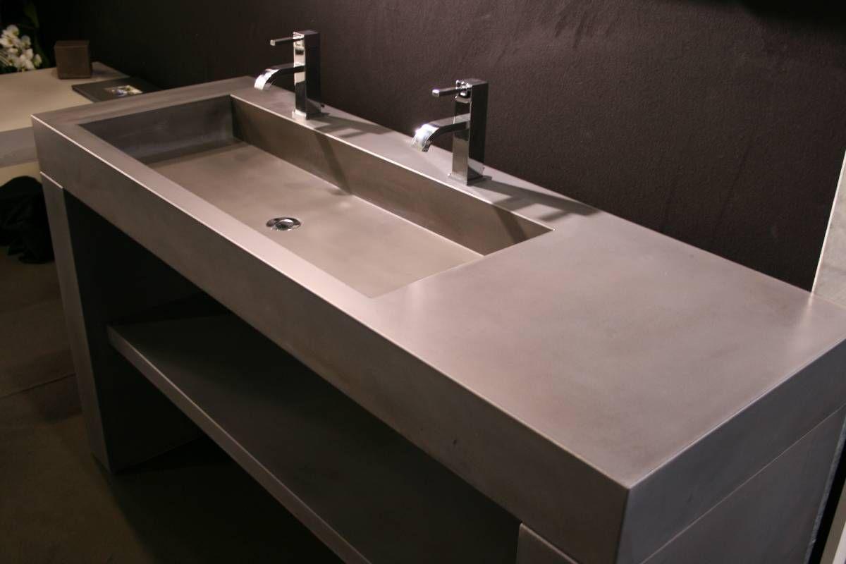 LCDA-plan-vasque-beton-7 | salle de bains | Pinterest | Plan ...