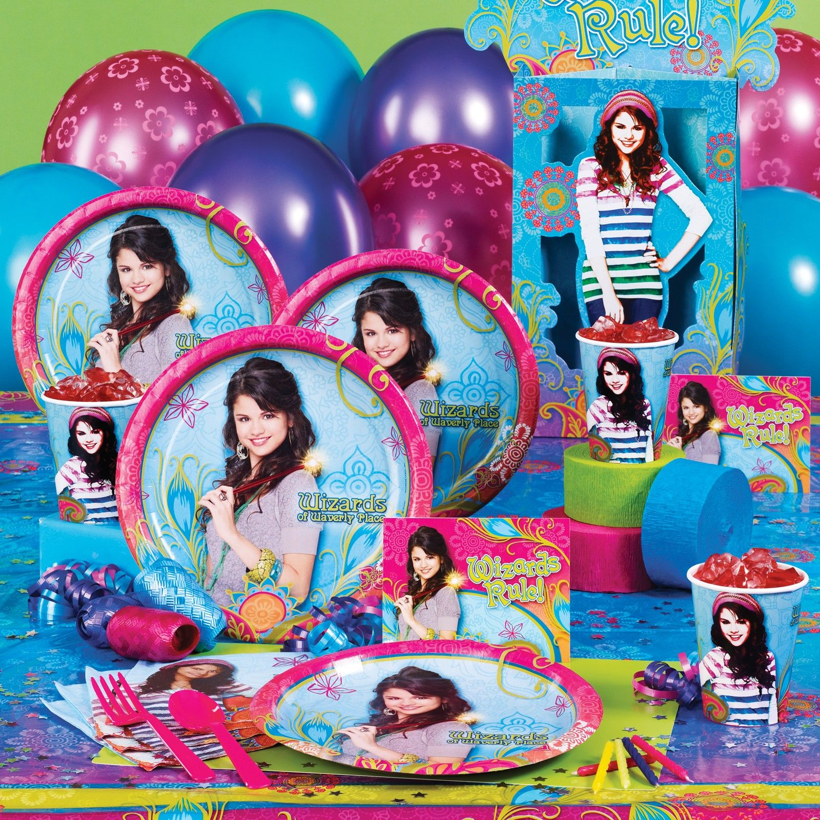 disney wizards of waverly place party supplies selena gomez